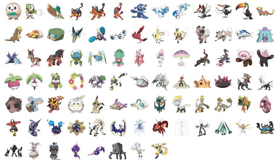 Love/Hate: Pokemon Gen 7